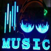 پرده اکولایزر طرح موزیک