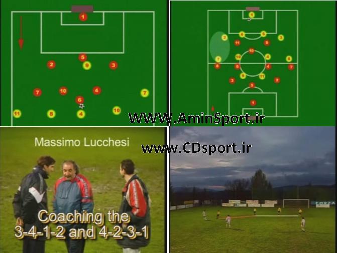 آموزش و مربیگری سیستم های 3.4.1.2 و 4.2.3.1 در فوتبال