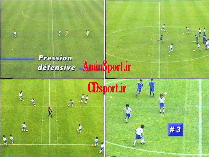 آموزش فوتبال توسط کورور- مهارت های پایه مدارس فوتبال
