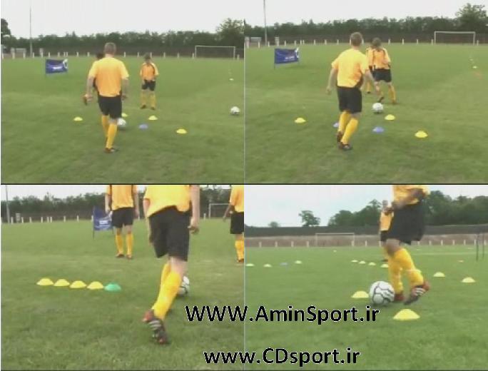 آموزش دریبل زدن در فوتبال (دوبله فارسی)