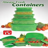 ظروف نانو آلویز فرش کنتاینرز always fresh containers(ظروف نگهدارنده غذا با تکنولوژی نانو ب