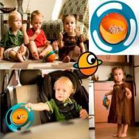 ظرف غذای بچه | ظرف غذای کودک Universal Gyro Bowl اصل | بشقاب غذای بچه درجه 1