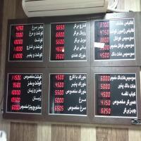 تابلو نمایش قیمت دیجیتالی بوشهر