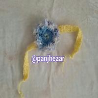 هد بند بچه گانه زرد آبی