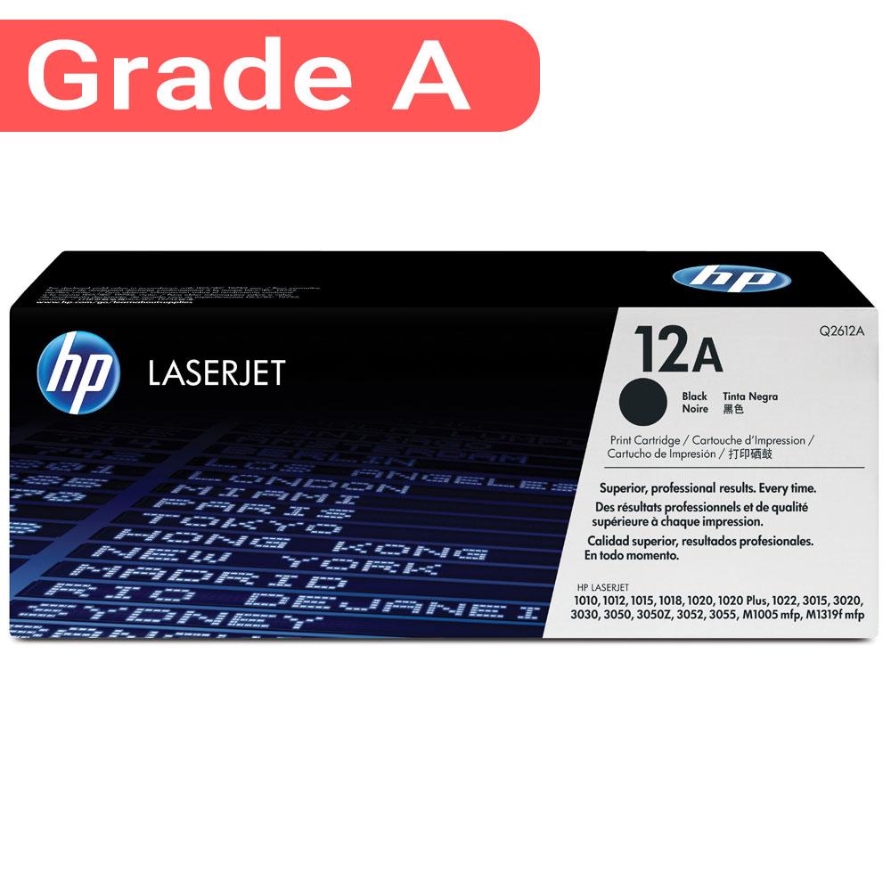 12A Black LaserJet Toner Cartridge