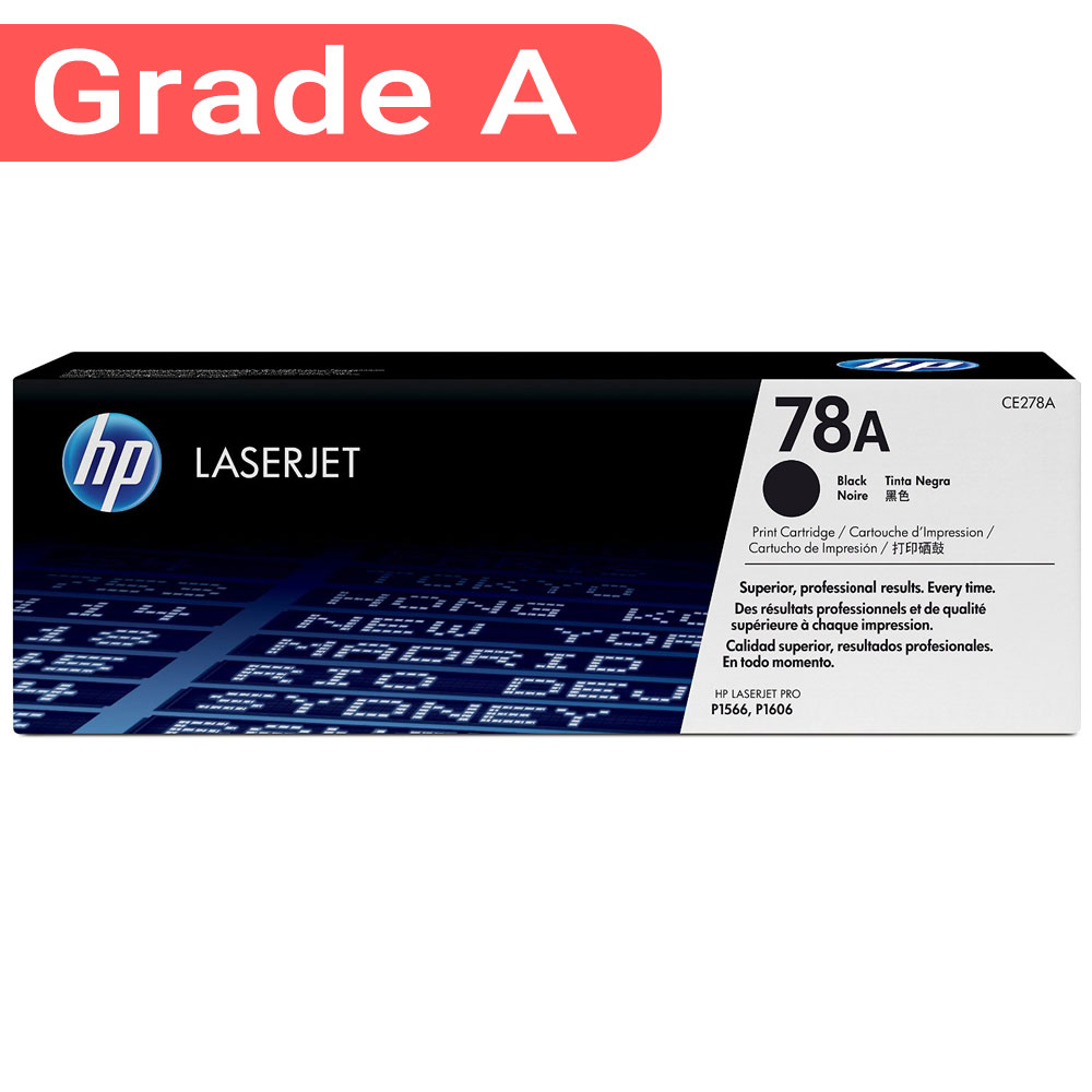 78A Black LaserJet Toner Cartridge