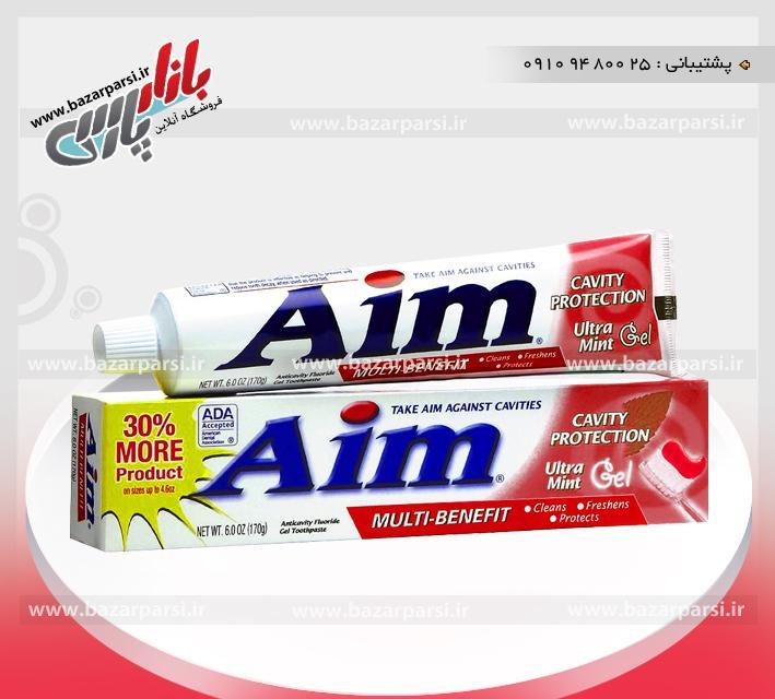 خمیر دندان Aim آمریکا - قرمز
