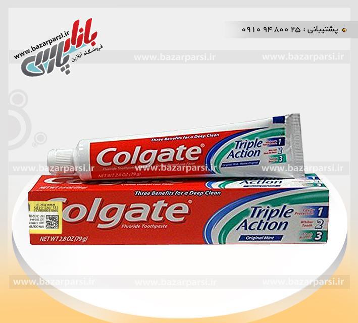 خمیر دندان سه کاره کولگیت مکزیک