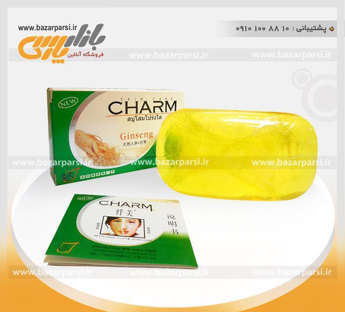 صابون گیاهی صورت و بدن جین سینگ - چارم CHARM