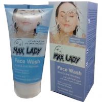 ژل شستشوی صورت برای پوست های چرب مکس لیدی
