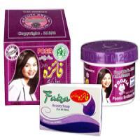 کرم و صابون ضد لک و سفید کننده فائزه اصل