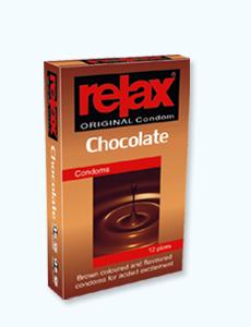 کاندوم شکلات ریلکس (مجوز 15313 / 9 / ک)