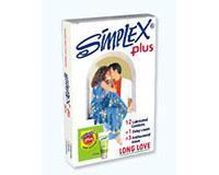 توضیحات کاندوم سفید پلاس سیمپلکس (مجوز 15313 / 9 / ک)