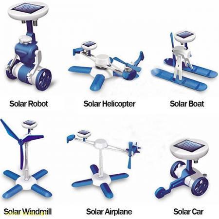 روبات 6 کاره خورشیدی