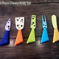 ست پنج تایی پنیر خوری CHEESE KNIFE SET