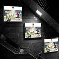 تبلیغ در باکس ها و ال سی دی های مترو