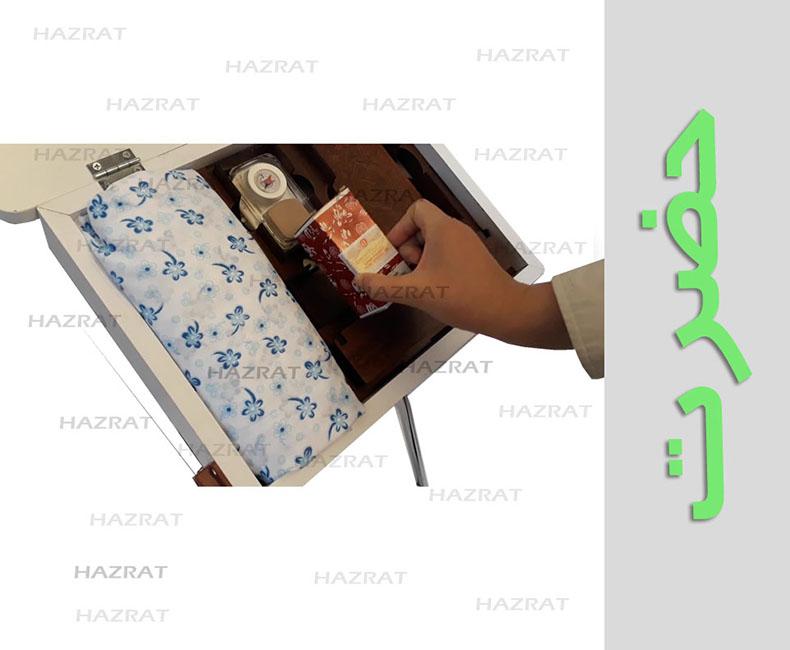میزوصندلی نماز تاشو باکس دار کادویی حضرت(مخصوص مادران)