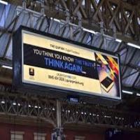 تبلیغات سالن راه آهن