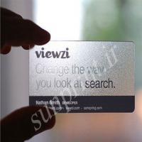 کارت ویزیت شیشه ای(400 عدد)