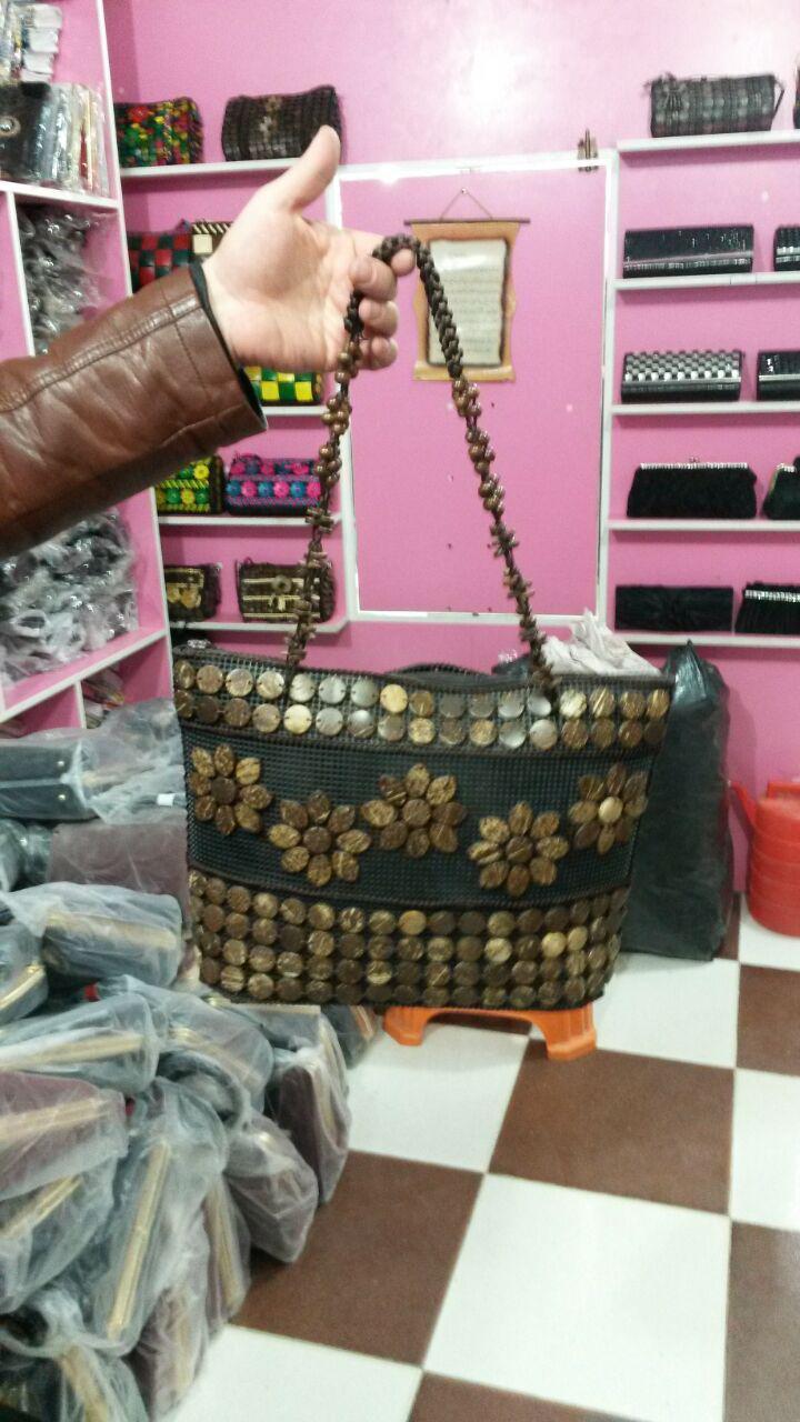 خرید اینترنتی کیف دستی دست دوز زنانه