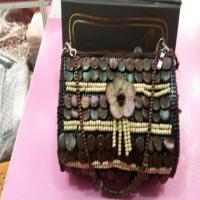 خرید اینترنتی کیف مجلسی دست دوز زنانه
