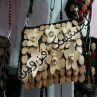 خرید اینترنتی کیف دوشی   دست دوز زنانه