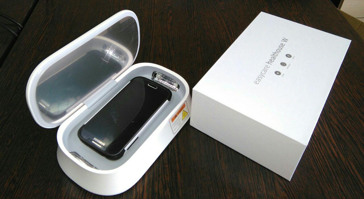 سنیتایزر دستگاه ضد عفونی کننده تلفن همراه