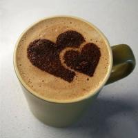 شابلون تزئین قهوه