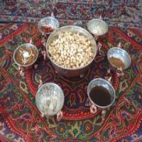 با هفت سین سنتی کرمانی در بهار 95