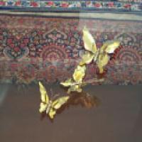 پروانه های تزئینی برنجی