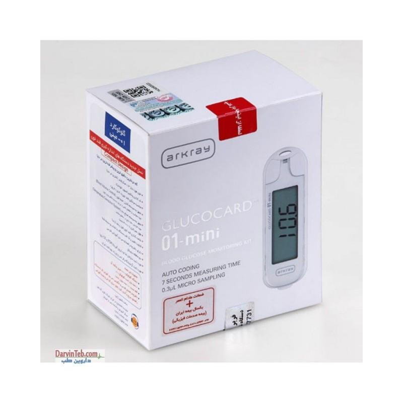 دستگاه تست قند خون گلوکوکارد 01 مینی 01 Mini