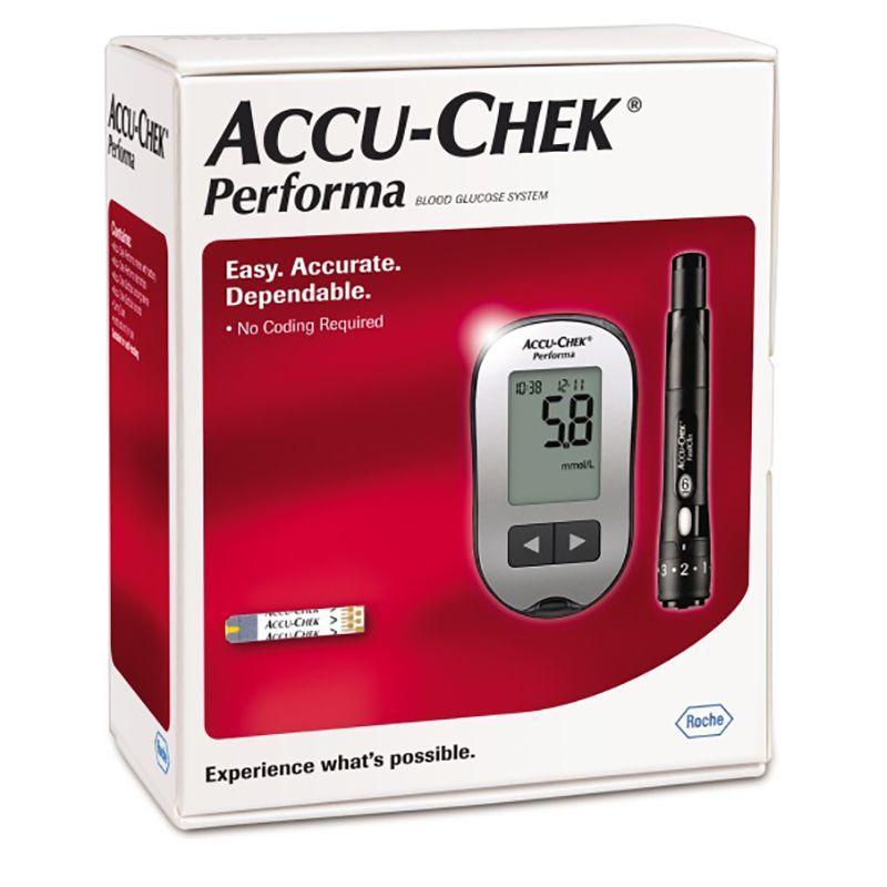 دستگاه تست قند خون اکیو چک پرفورما Accu chek Performa