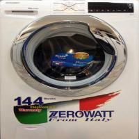 ماشین لباسشویی زیرو وات نقره ای 9 کیلو 1500 دور