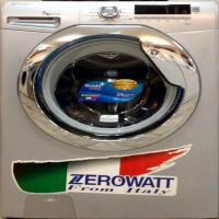 ماشین لباسشویی زیرو وات نقره ای7 کیلو1100 دور