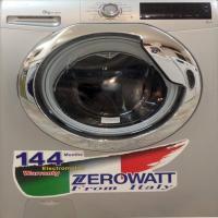 ماشین لباسشویی زیرو وات نقره ای8 کیلو 1300 دور