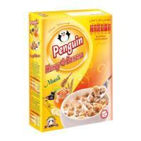 صبحانه میوسلی موز و عسل  honey & banana