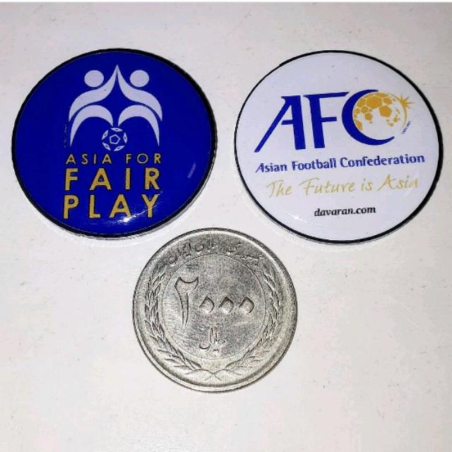 سکه داوری ای اف سی