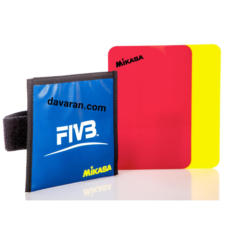 کارت زرد و قرمز داوری والیبال