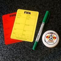 کارت زرد و قرمز فیفا لمینت