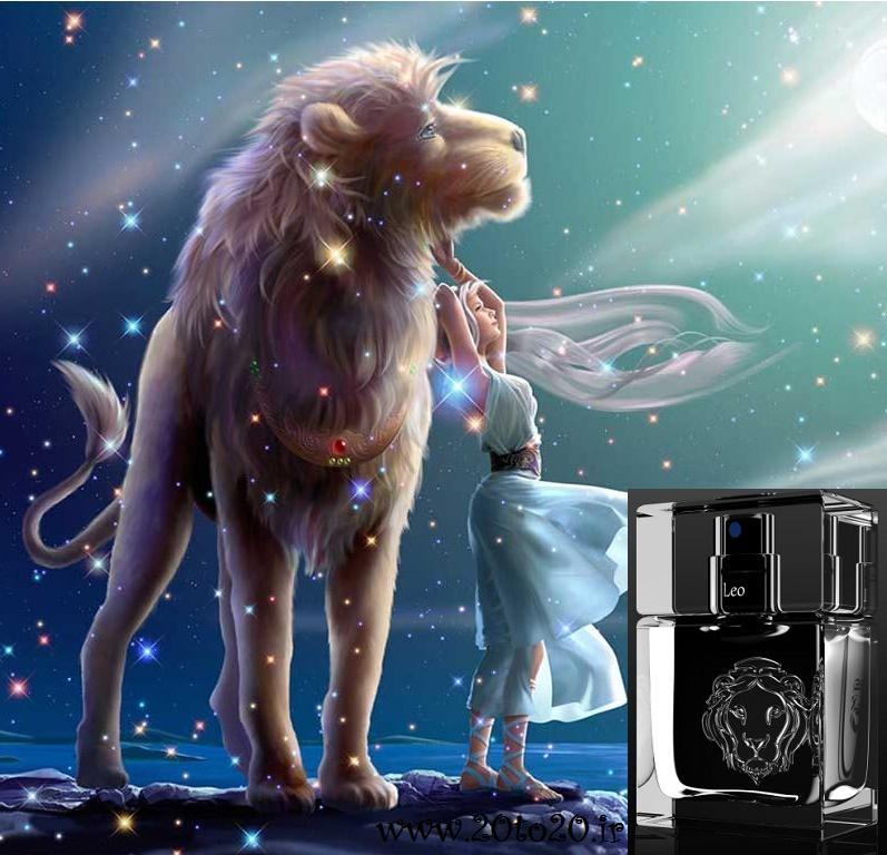خرید ادکلن ماه تولد مرداد مردانه Leo فرانسه Horoscope Dandelion Leo for Men