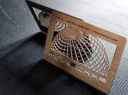کارت ویزیت چوبی یکرو (ویژه) بوشهر