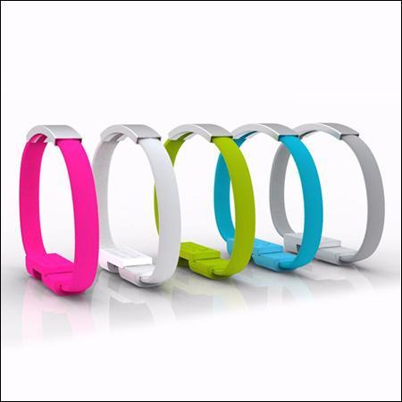 خرید اینترنتی کابل شارژر USB طرح دستبند
