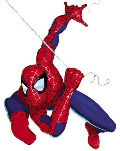 ست کامل لباس مرد عنکبوتی ( اسپایدرمن )