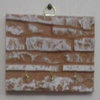 جا ی دسته کلید دیواری طرح هوما – 3 قلابه کوچک