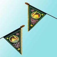 پرچم سه گوش( با لوله وسَری مخصوص)