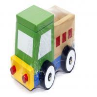 ماشین پازلی کامیون چوبی