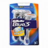 خودتراش کارتی 3 عددی ژیلت Gillette مدل Blue III