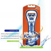 دستگاه  ژیلت Gillette FUSION+1 قابدار