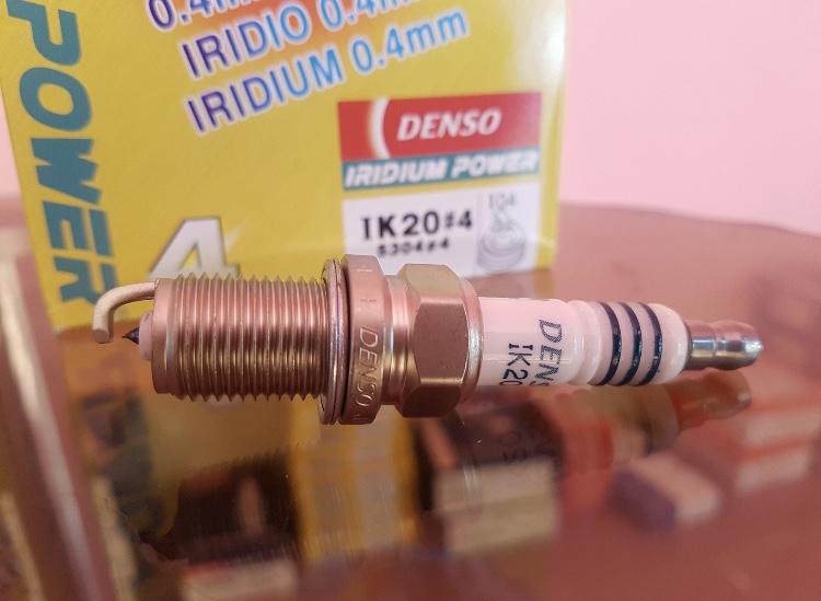 دنسو ایریدیوم پاور پایه کوتاه Ik20  (چهارعدد)