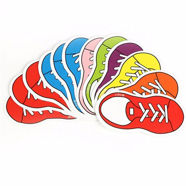 کارت کفش رنگی